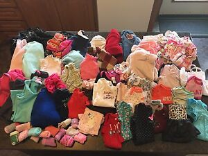 HUGE BABY GIRL LOT!! OVER 80 ITEMS!!!