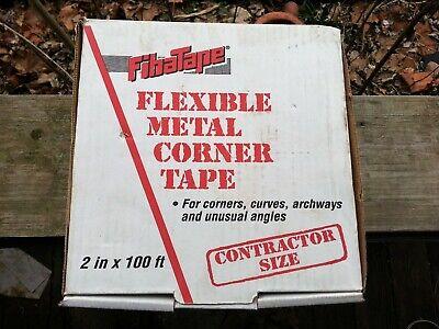 Fibatape 2 X 100 Steel Reinforced Paper Drywall Corner Tape