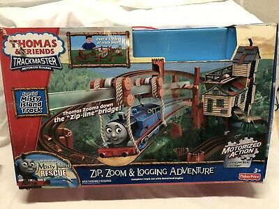 Thomas the Train Trackmaster Zip Zoom and Logging Adventure