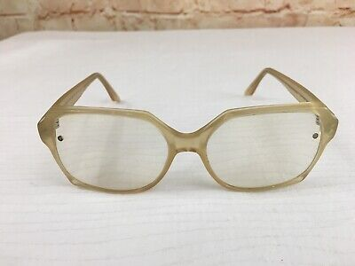 Andy Wolf 5021 56/15/140 Eyeglass Frames Square Womens Gold Plastic