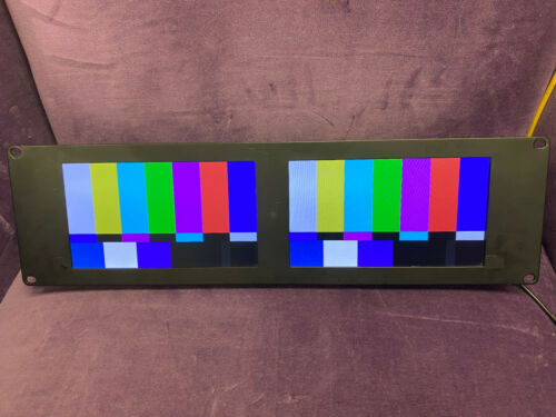 Blackmagic Design Smartview Duo HD-SDI Rackmountable Dual 8 inch LCD Monitors