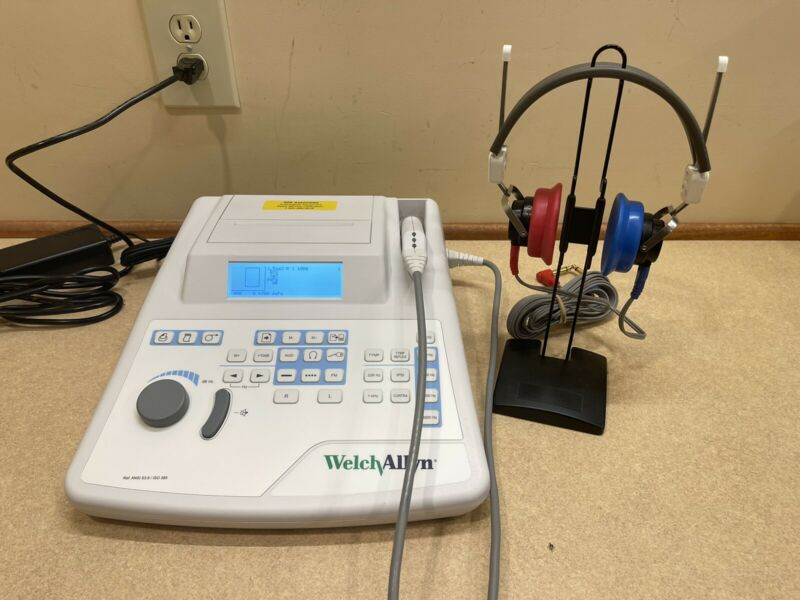 GSI 39 Audiometer/Tymp (IPSI) Combo w/ NEW Calibration Cert.