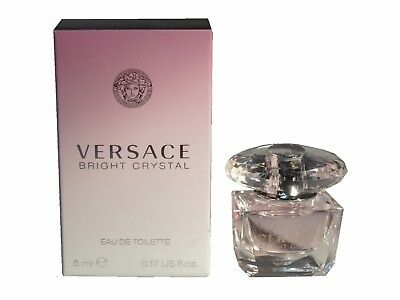 Versace Bright Crystal for Women Miniature Mini Perfume 5ml EDT