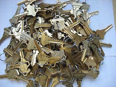 10 PAIR ( 20 keys) SCHLAGE PRECUT KEYS  10 SETS OF 2  SC-1  5 PIN KEYWAY FACTORY ()