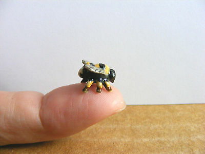 Klima Teeny Tiny Bumble Bee Miniature Animal Figurine Mini Bug