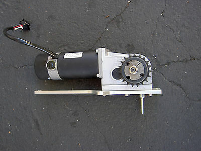 Right Angle Gear Motor 24vdc141 Rpm Asi Tech A290-03202990adl290-l 188318-01