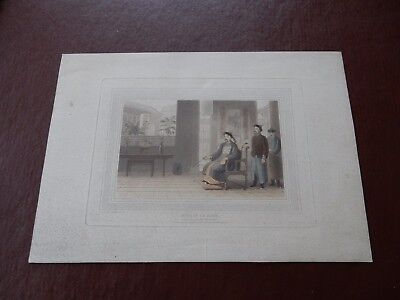 1810. Thomas and William Daniell (1749-1840;1769-1837).CHINESE NOBLE   to restor
