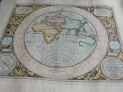Harmonia Macrocosmica of Andreas Cellarius Celestial Map-Artwork Reproduction !