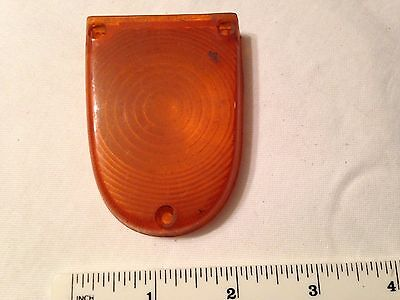 Vehicle rear indicator cover.