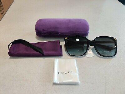 NEW Gucci GG 0022S 001 Sunglasses