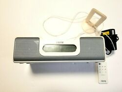 iHome iH5 Alarm Clock Radio Apple iPod Home System W/ Remote & Power Supply (I0