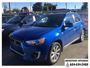 2015 Mitsubishi RVR GT NAVI; Local BC vehicle! Certified Pre-own