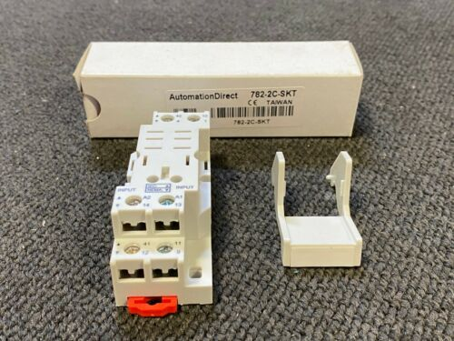 Automation Direct 782-2C-SKT Relay Socket Base 35mm DIN 8 Pin 782 AD70S2 Relay