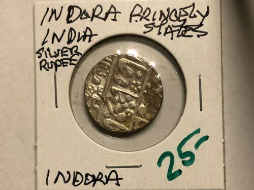 Indora - Princely States - India - Silver Rupee