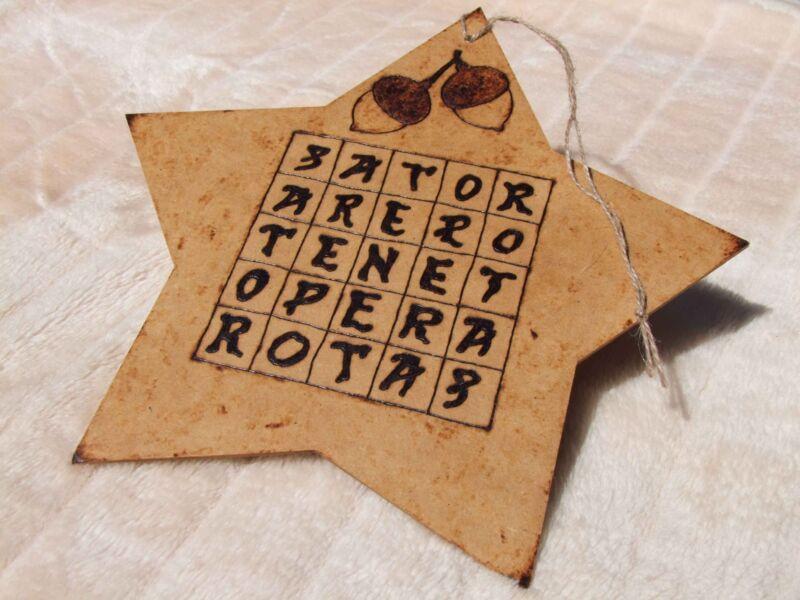 Sator Square Handmade - Witches Hotline