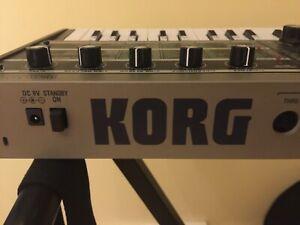 Korg mini synthesizer keyboard