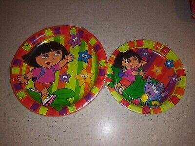 Dora The Explorer Birthday Party Supplies-Dora Starcatcher Plates Dinner Dessert](Dora Birthday Party)