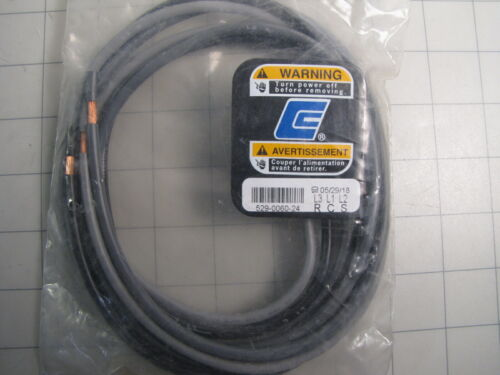 Copeland 529-0060-24 Power Cable w/ Molded Plug NEW