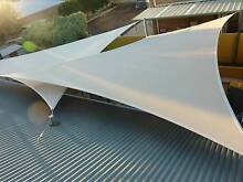 2 OZONE SHADE SAILS 8.4m x 6.3m Heavy Duty UV Protection Hillside Melton Area Preview