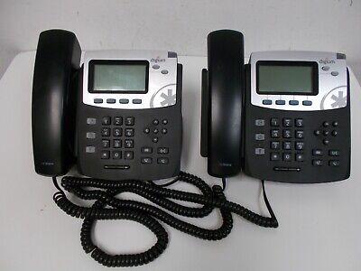 Lot 2 Pcs Digium D45 2-line Hd Voice Business Office Ip Phones 1teld045lf