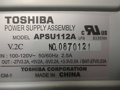 Toshiba Strata CTX CIX - 100 - APSU112A  Main Cabinet Power Supply ONLY for sale  Shipping to India