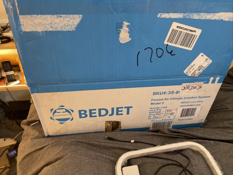 BedJet Forced Air Climate Comfort System 3S-800NA