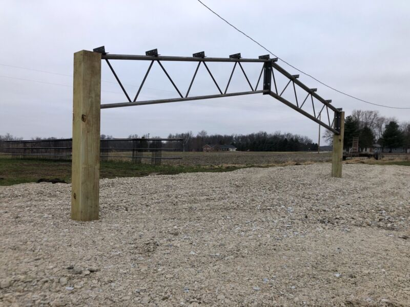 (6) 30' Steel Trusses for 30'-50' Building - 10