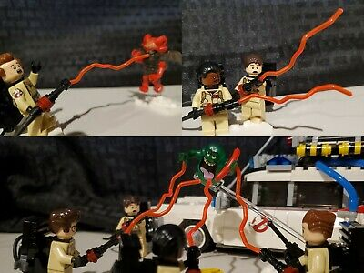 Custom Lego Ghostbusters Proton Beams (ORANGE) 75827 21108 PLEASE READ