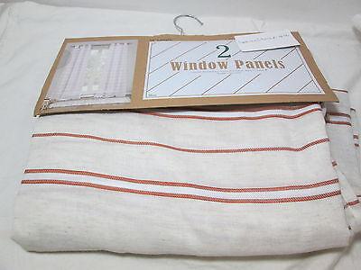 New Duck River Textile MAUI 2 Grommet Window Panels 76x84 Be