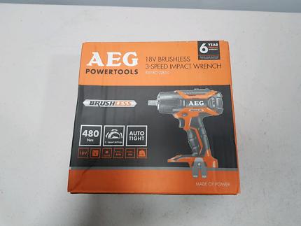 Aeg 18v brushless angle grinder kit power tools gumtree aeg 18v brushless impact wrench 480nm fandeluxe Gallery