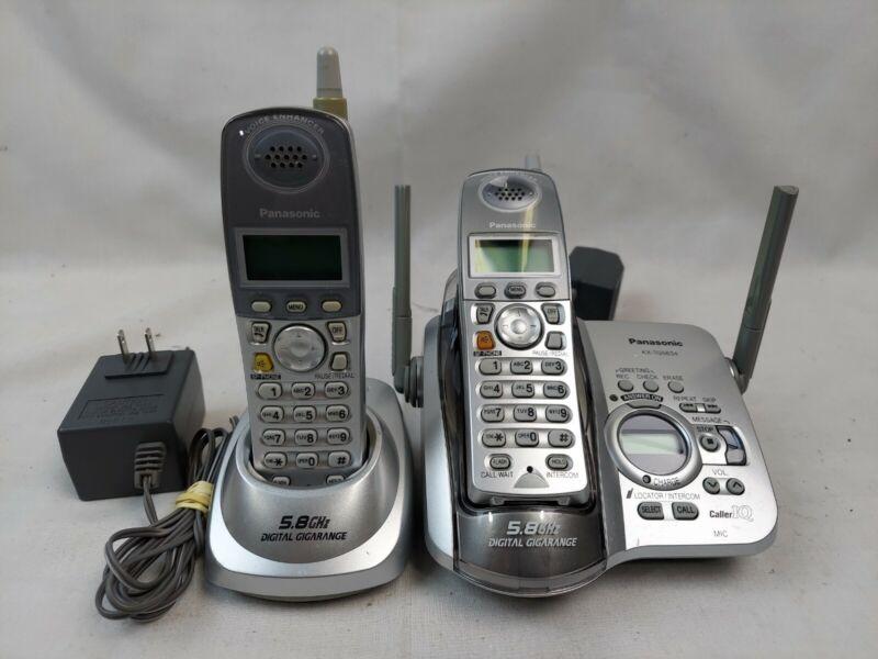 Panasonic KX-TG5634 Main Base 2 Handsets and Cradel EB-4176