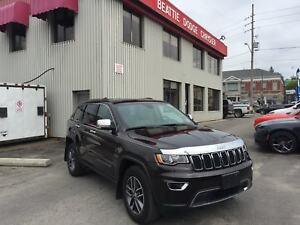 2017 Jeep Grand Cherokee Limited LEATHER/ SUNROOF/ BACKUP CAMERA