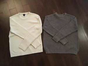 H&M sweaters size large