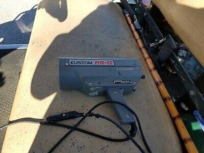 Kustom Hr-12 Hr12 Pistol Grip Radar Gun Speed Detector