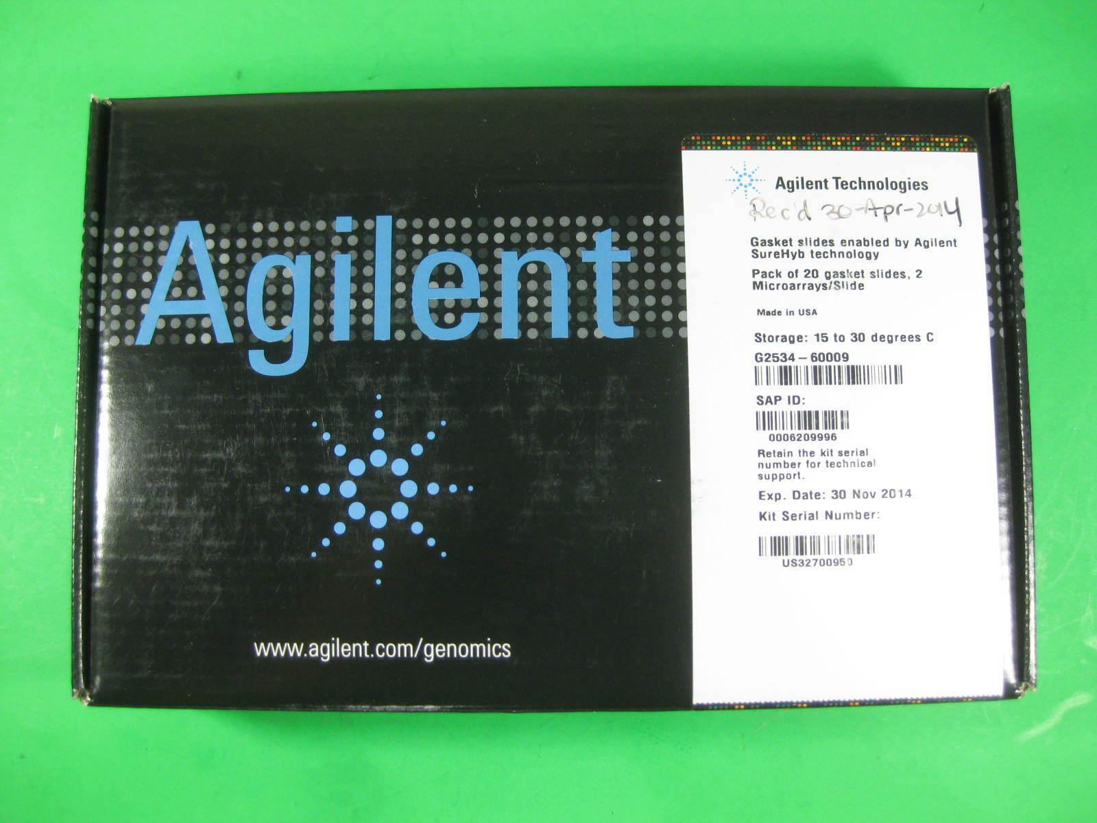 Agilent Gasket Slides Surehyb Tech G2534-60009 New