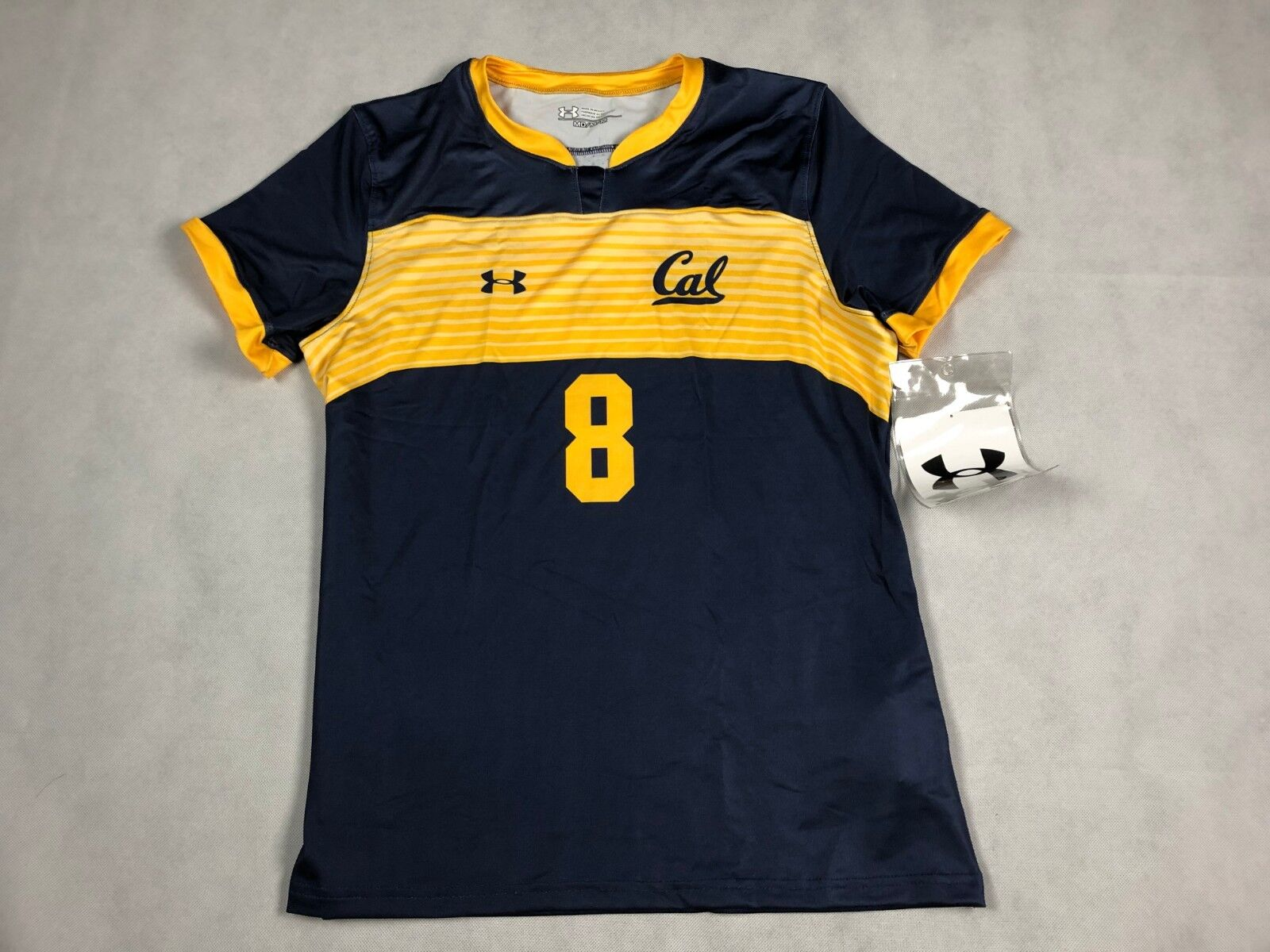 5b7c6940c89 UNDER ARMOUR WOMENS ARMOURFUSE SHOWTIME JERSEY CAL  8 SOCCER JERSEY ...