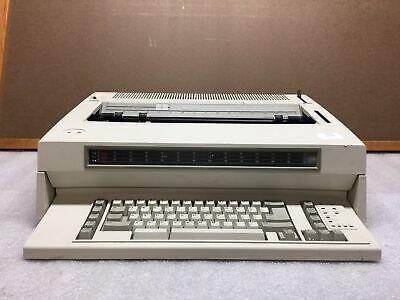 Ibm Wheelwriter 15 By Lexmark 6783 Electric Typewriter Low Ink Tested Fair