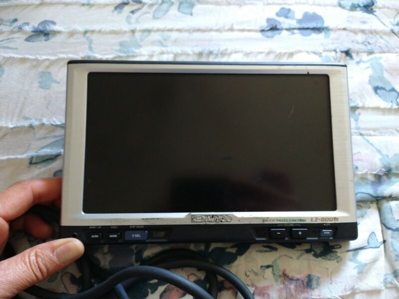 Kenwood LZ-800W Touch-Sensitive 8-in Monitor *UNTESTED*