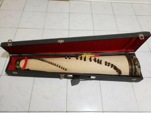 Chinese Guzheng, Chinese Zither Harp