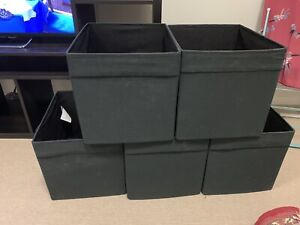 Storage Boxes - DRÖNA Box, black