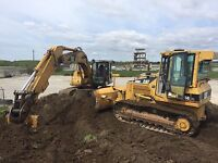 For rent! Excavator, bull dozers, and more!