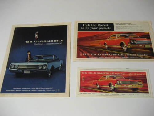 1965 Oldsmobile Brochures....Lot of Three