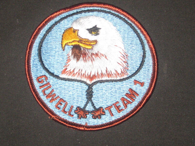 Wood Badge Gilwell Team 1 Eagle Patch