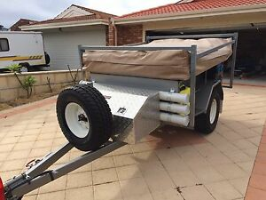 WA Built Outback Camper Trailer Sorrento Joondalup Area Preview