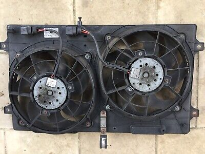 7M3121203 Twin Radiator Cooling Fan & Shroud Assembly - Alhambra (Galaxy/Sharan)