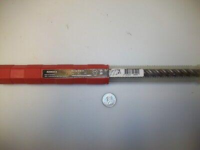 Hilti Te-yx Hammer Drill Bit With Sds-max Shanks - 58 X 14 - 206513