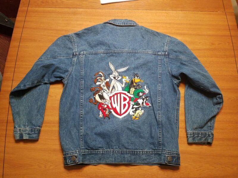 Warner Brothers Looney Tunes Denim Jacket, Youth XL.  (T22)