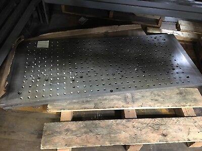 2 Sub Plates 40 X 20 Haas Fadal Mazak Mori Cnc Mill Fixture