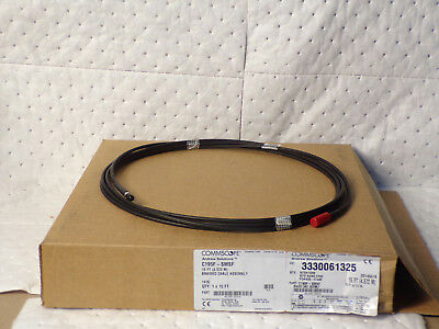 Andrew Commscope C195F-SMSF-15 Jumper w/ interface type SMA Male and SMA Female