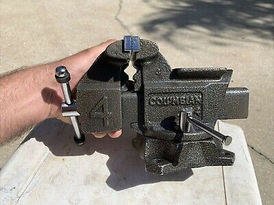 Columbian D4 Anvilpipe Bench Vise 4 12 Jaws 4 34 Open Columbian 76653-03